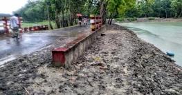 বাগমারায় জলাবদ্ধতায় ৪০ হাজার একর জমিতে চাষাবাদ অনিশ্চিত