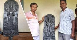 বাগমারায় গোসলে নেমে কষ্টিপাথরের মূর্তি পেলো শিশুরা