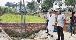 রাজশাহী জেলা আওয়ামী লীগের নিজস্ব ভবন নির্মাণ কাজ শুরু