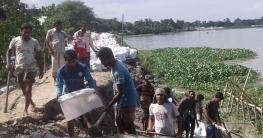 বাগমারায় আরও দুইটি ইউনিয়ন প্লাবিত