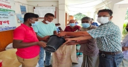 বাগমারায় ১৩০০ জন পেলেন ভিজিএফ চাল