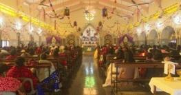 রাজশাহীতে বড়দিনে করোনামুক্তির প্রার্থনা