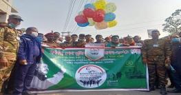 মোহনপুরে সেনাবাহিনীর তত্বাবধানে 'বঙ্গবন্ধু ম্যারাথন' উদ্বোধন