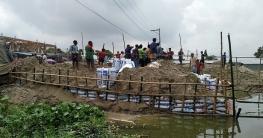 মোহনপুরের কেশরহাটে সওজের জায়গা দখলের মহোৎসব
