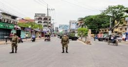 রাজশাহীতে কঠোর অবস্থানে মাঠে নেমেছে সেনাবাহিনী