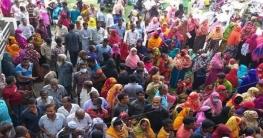 বাগমারায় স্মার্ট জাতীয় পরিচয় পত্র নিতে উপচেপড়া ভীড়