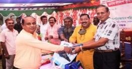 কেশরহাট নাকইল আদর্শ উচ্চবিদ্যালয়ের প্রধানশিক্ষককে বিদাযসংবর্ধনা