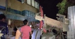 রাজশাহীতে বনলতা ট্রেনের সঙ্গে ট্রাকের সংঘর্ষ