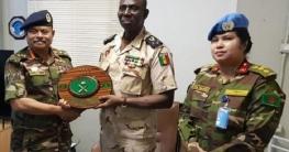 সেনাবাহিনী প্রধানের সঙ্গে সেন্ট্রাল আফ্রিকার রাষ্ট্রপতির সাক্ষাৎ